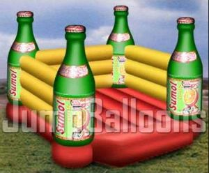 Beer Bottle Bouncer for Boys, China Inflatable Toy Supplier pictures & photos