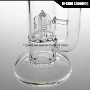 Hfy Glass 2018 Straight Tube Hookah Factory Wholesale Water Smoking Pipe Sovereignty pictures & photos