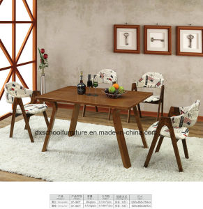 High Class Solid Table and Chair for Restaurant pictures & photos