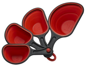 Silicone Collapsible Measuring Spoons & Kitchen Tools FDA&LFGB (SY6206) pictures & photos