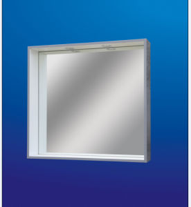 Simple Bathroom Mirror with Border 3144