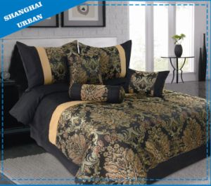 3 PCS Polyester Jacquard Duvet (Cover Set) pictures & photos