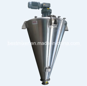 Conical Screw Mixer with Slide Valve pictures & photos