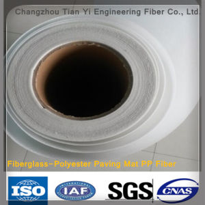 Fiberglass-Polyester Paving Mat PP Fiber for Road High Quality pictures & photos