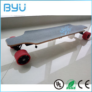 2016 Latest Customized Printing Longboard E-Scooter Electric Skateboard