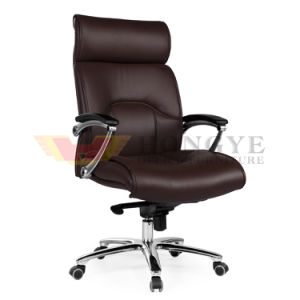 Modern Rotary Brown Office Executive Director Chair (HY-139A) pictures & photos