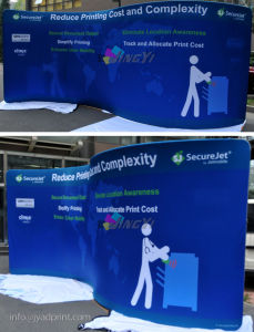 Aluminum Pop up Ez-Tube Tradeshow/Exhibition Backdrop Banner Display pictures & photos