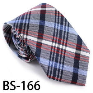 New Design Fashionable Silk/Polyester Check Tie (BS-166) pictures & photos