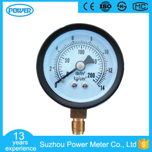 50mm Black Steel Case Manometer with Ce Certificate pictures & photos