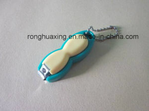 W-0776bsa-7 Baby Nail Clipper with Catcher and Chain pictures & photos