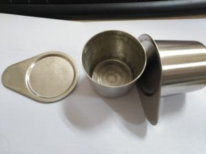 25ml Pure nickel crucible High temperature corrosion pictures & photos