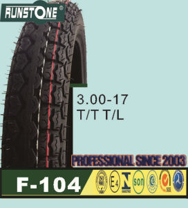 High Quality Motorcycle Tyre 3.00-17 pictures & photos