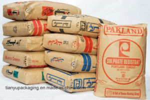 Block Bottom Kraft Paper Bags for Cement pictures & photos