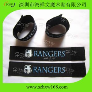 Strong Elastic Hook & Loop Band for Soccer Shin Guard (HXW-SJD)