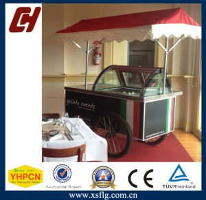 Hotel Popsicle Ice Cream Cart with Wheels pictures & photos