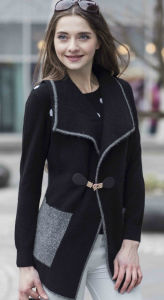 Ladies′ Fashion Cashmere Sweater (1500002062) pictures & photos