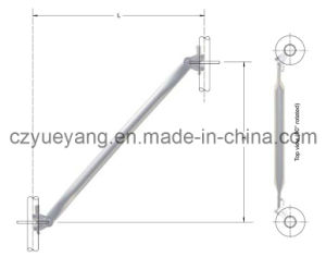 Ringlock Scaffolding System-Diagonal Brace pictures & photos