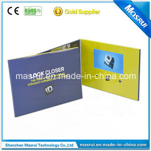 7inch Touch Screen LCD Advertising Greeting Cards