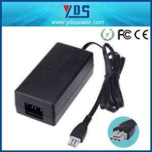 High Quality 32V 2500mA C14 3pin Printer Adapter for HP pictures & photos
