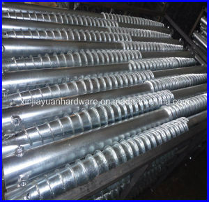 Hot DIP Galvanized Pole Anchor, Ground Screw, Ground Screw Anchor for City Fence and Garden pictures & photos