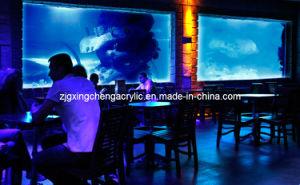 Cast Acrylic Wall-Hanging Restaurant Aquarium pictures & photos