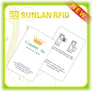Hot! Rewritable RFID Hotel Key Card ISO9001 Verified pictures & photos
