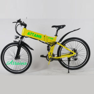 Exquisite Battery Hidden Compact Foldable Electric City E-Bike Bicycle pictures & photos