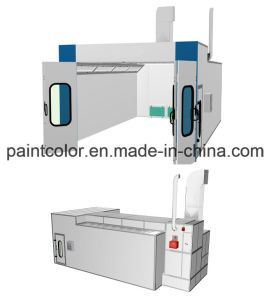Semi Downdraft Car Spray Paint Booth pictures & photos