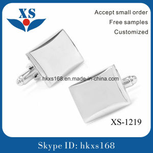Wholesale Fancy Steel Square Cufflink pictures & photos