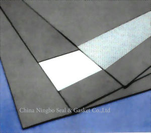 Reinforced Graphite Gasket Sheet with Tanged Metal Foil pictures & photos