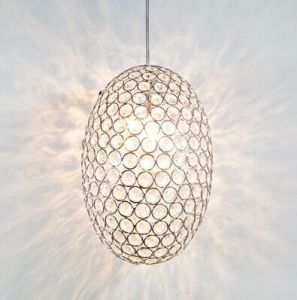 Modern Egg Pendant Lamp with Crystal Beads (WHP-997) pictures & photos