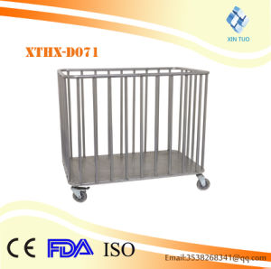 Factory Direct Price Trolley for Dirty Clothes Nursing Cart Hospital Laundry Cart pictures & photos