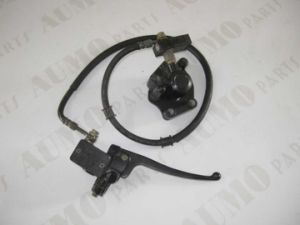 Front Disc Brake Assy for Qianjiang Qj50qt-2 Motorcycle Body Parts pictures & photos