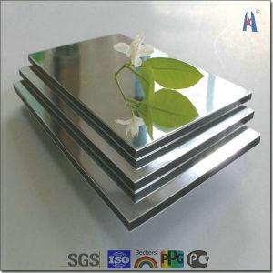Silver Mirror Aluminium Composite Panel pictures & photos