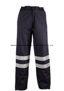 Flame Retardant Workwear Pants with Reflective pictures & photos