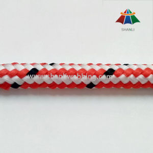 9mm Striped Color Polypropylene Rope pictures & photos