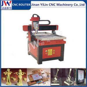 Mini Advertising CNC Router for ABS Acrylic Advertising Board Carving pictures & photos