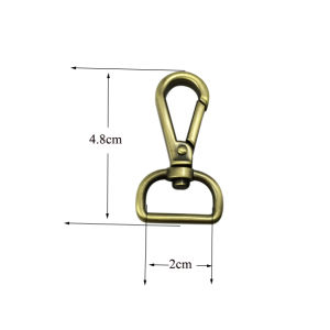 High Quality Stainless Steel Swivel Snap Hook (2*4.8cm) pictures & photos