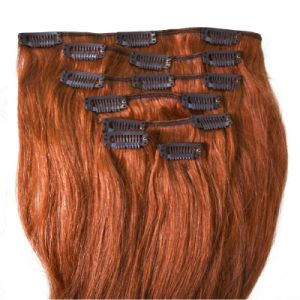Natural Virgin Remy Clip in Human Hair Extension pictures & photos