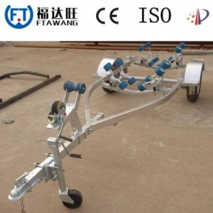 Galvanizing Roller Speed Boat Trailer Yacht Boat Trailer pictures & photos