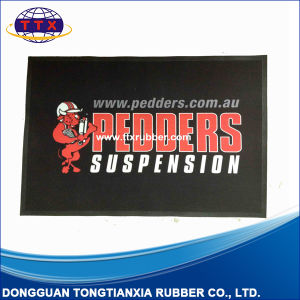 Custom Image Printed Nitrile Rubber Logo Mat pictures & photos