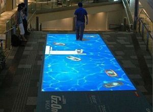 IR Interactive Projection System (floor display)