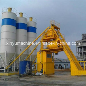 Skip Hopper Type Small Concrete Mixing Plant (HZS150) pictures & photos