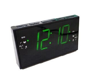 1.8 Inch Pll Am/FM LED Alarm Clock Radio Receiver