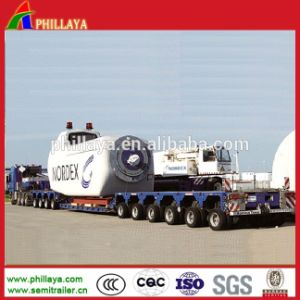 250 Tons Heavy Duty Machinery Transport Hydraulic Modular Trailer pictures & photos