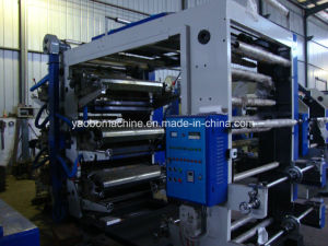 Yb-6800 Six Color Flexographic Printing Press pictures & photos