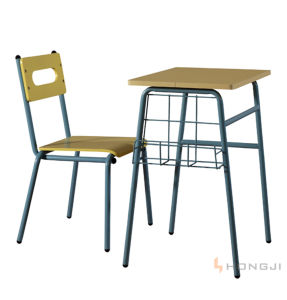 Hongji Seating Special Design Primary School Chair and Table pictures & photos
