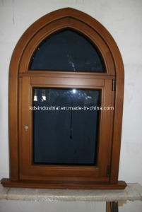 Chinese Solid Wood Painting Window (KDSW046)