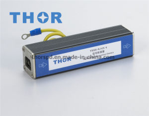 RJ45 Network Signal Lightning Arrester Surge Protector for CE pictures & photos