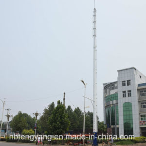 Galvanized Steel WiFi Antenna Pole /Tower pictures & photos